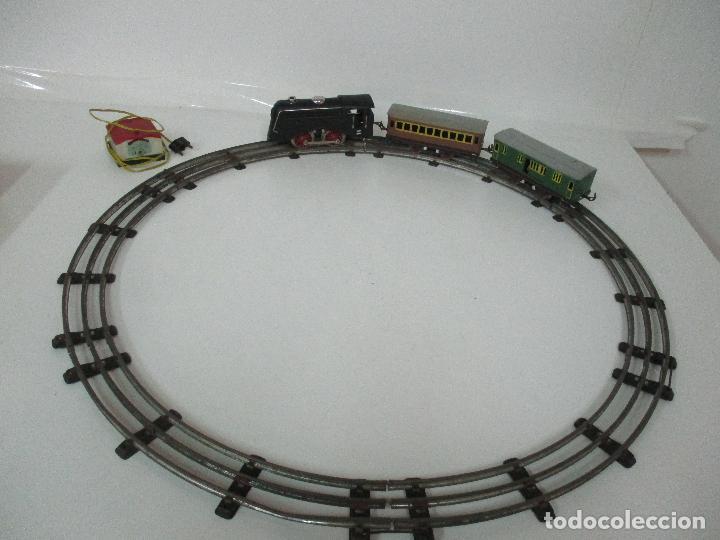 Trenes Escala: Tren Paya - Escala 0 - Locomotora Fantasma - Vagón Correos - Caja Original - Foto 13 - 102708623