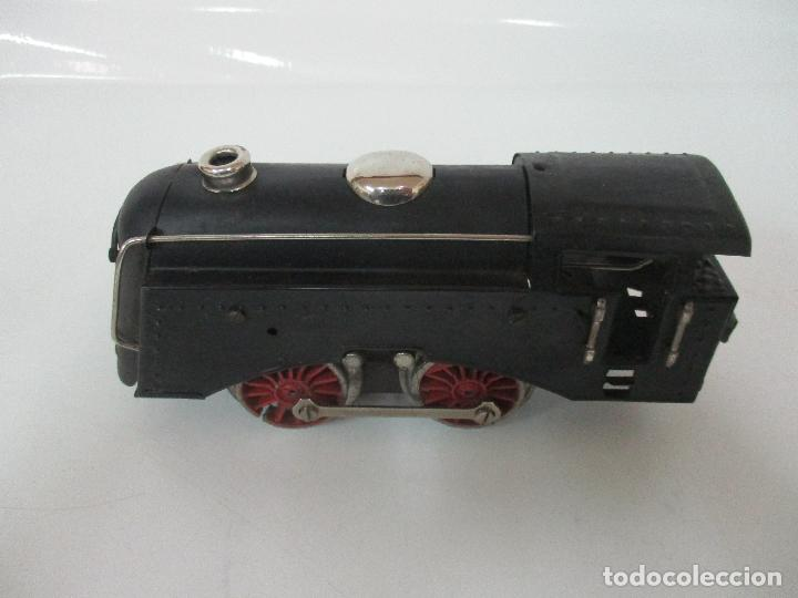 Trenes Escala: Tren Paya - Escala 0 - Locomotora Fantasma - Vagón Correos - Caja Original - Foto 17 - 102708623