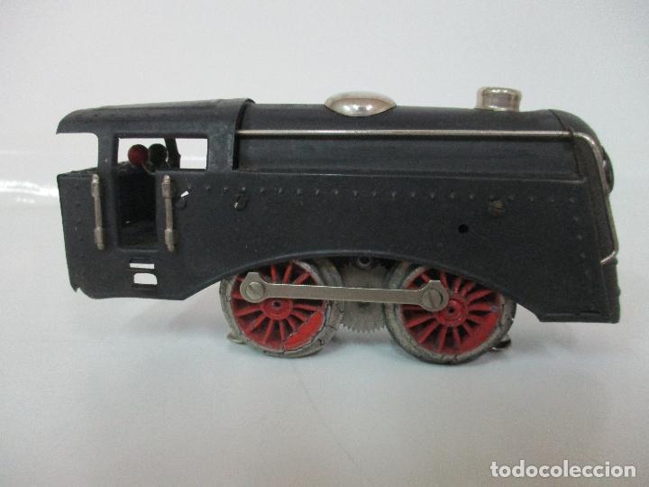 Trenes Escala: Tren Paya - Escala 0 - Locomotora Fantasma - Vagón Correos - Caja Original - Foto 19 - 102708623