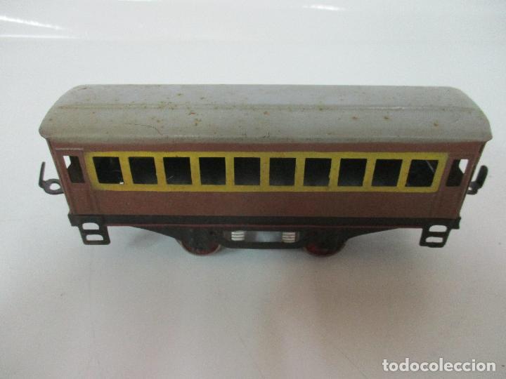 Trenes Escala: Tren Paya - Escala 0 - Locomotora Fantasma - Vagón Correos - Caja Original - Foto 22 - 102708623