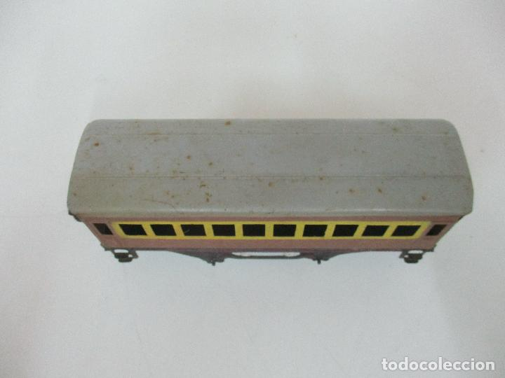 Trenes Escala: Tren Paya - Escala 0 - Locomotora Fantasma - Vagón Correos - Caja Original - Foto 23 - 102708623
