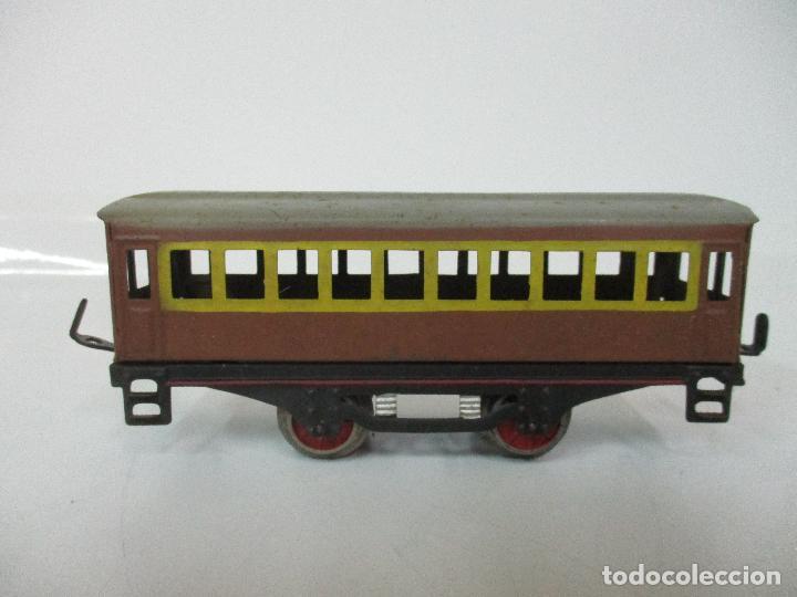 Trenes Escala: Tren Paya - Escala 0 - Locomotora Fantasma - Vagón Correos - Caja Original - Foto 24 - 102708623