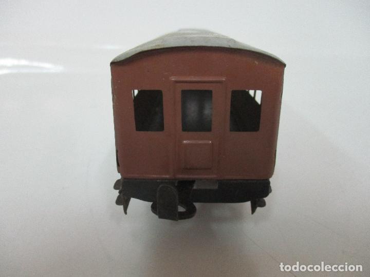 Trenes Escala: Tren Paya - Escala 0 - Locomotora Fantasma - Vagón Correos - Caja Original - Foto 25 - 102708623