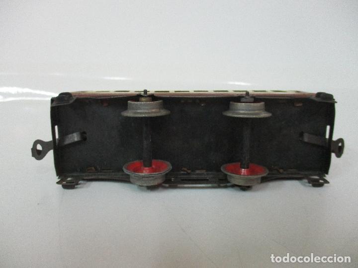 Trenes Escala: Tren Paya - Escala 0 - Locomotora Fantasma - Vagón Correos - Caja Original - Foto 26 - 102708623