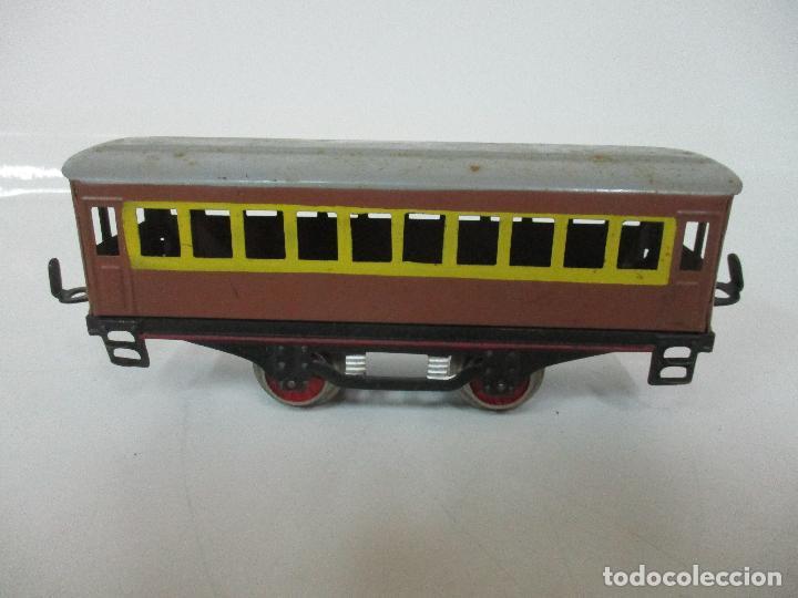 Trenes Escala: Tren Paya - Escala 0 - Locomotora Fantasma - Vagón Correos - Caja Original - Foto 27 - 102708623