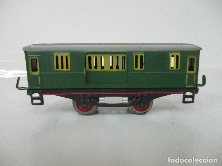 Trenes Escala: Tren Paya - Escala 0 - Locomotora Fantasma - Vagón Correos - Caja Original - Foto 28 - 102708623