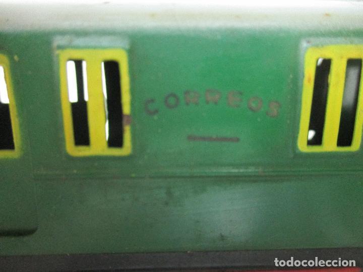 Trenes Escala: Tren Paya - Escala 0 - Locomotora Fantasma - Vagón Correos - Caja Original - Foto 29 - 102708623