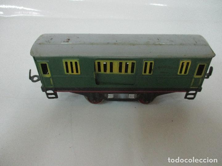 Trenes Escala: Tren Paya - Escala 0 - Locomotora Fantasma - Vagón Correos - Caja Original - Foto 30 - 102708623