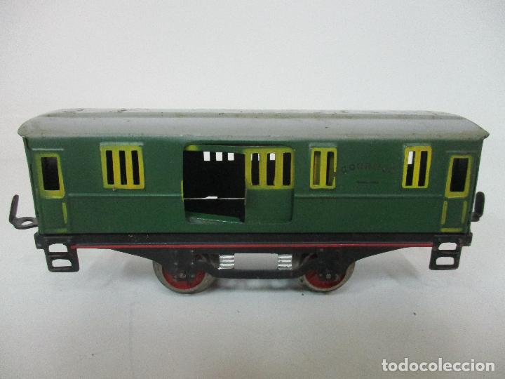 Trenes Escala: Tren Paya - Escala 0 - Locomotora Fantasma - Vagón Correos - Caja Original - Foto 31 - 102708623