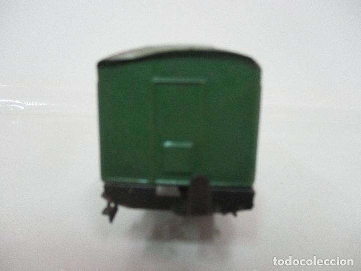 Trenes Escala: Tren Paya - Escala 0 - Locomotora Fantasma - Vagón Correos - Caja Original - Foto 33 - 102708623
