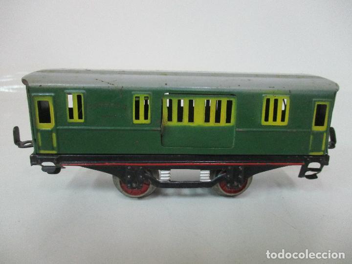 Trenes Escala: Tren Paya - Escala 0 - Locomotora Fantasma - Vagón Correos - Caja Original - Foto 34 - 102708623