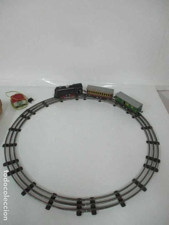 Trenes Escala: Tren Paya - Escala 0 - Locomotora Fantasma - Vagón Correos - Caja Original - Foto 36 - 102708623