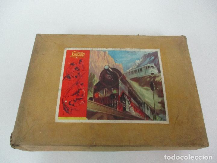 Trenes Escala: Tren Paya - Escala 0 - Locomotora Fantasma - Vagón Correos - Caja Original - Foto 38 - 102708623