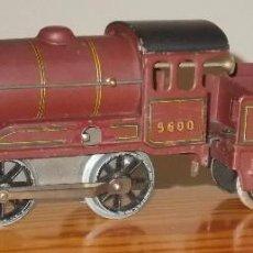 Trenes Escala: HORNBY LOCOMOTORA A CUERDA LMS ESCALA 0. Lote 105206475