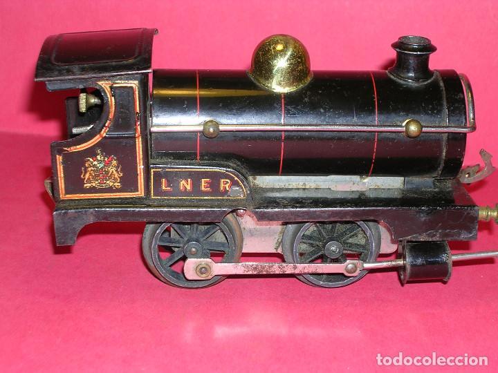 HORNBY Nº 1 A CUERDA 1925 (Juguetes - Trenes Escala 0)