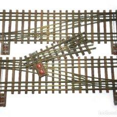 Trenes Escala: LOTE 2. DESVÍOS ESPECIALES MANAMO, AÑOS 40.. Lote 109208167