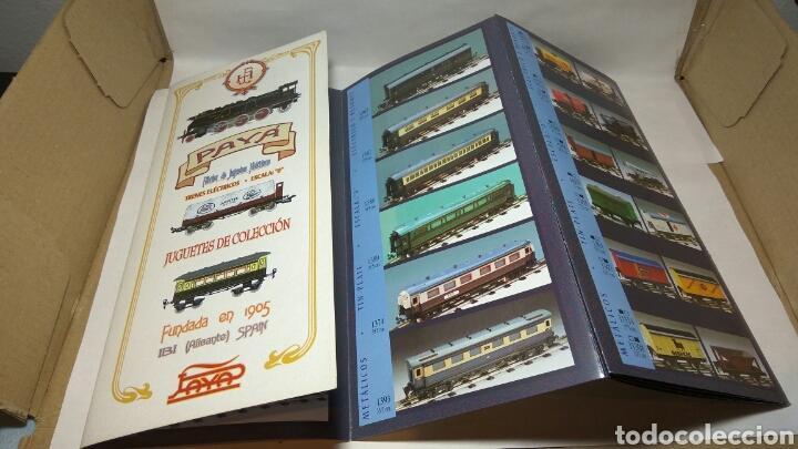 Trenes Escala: PAYÁ FOLLETO TRENES ELÉCTRICOS ESCALA 0 - Foto 2 - 214966586