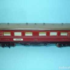 Trenes Escala: PAYA VAGON LARGO 37 CM COCHE SALON PH. 1376 CON FRONTALES CALAMINA. Lote 115381999