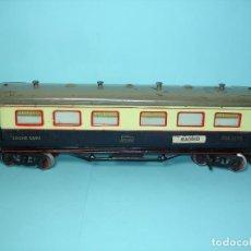 Trenes Escala: PAYA, VAGON LARGO 37 CM COCHE CAMA PH.1376. Lote 115382155
