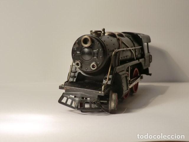 Trenes Escala: PAYA MAQUINA Y TENDER SERIE 987 ESCALA 0 AÑOS 50 MUY BUEN ESTADO - Foto 5 - 116264987