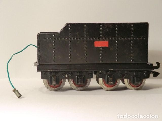 Trenes Escala: PAYA MAQUINA Y TENDER SERIE 987 ESCALA 0 AÑOS 50 MUY BUEN ESTADO - Foto 8 - 116264987