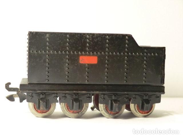 Trenes Escala: PAYA MAQUINA Y TENDER SERIE 987 ESCALA 0 AÑOS 50 MUY BUEN ESTADO - Foto 9 - 116264987
