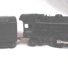 Trenes Escala: LOCOMOTORA 1655 Y VAGON CARBONERA LIONEL LINES ESCALA 0. Lote 132258914
