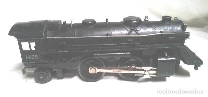 Trenes Escala: Locomotora 1655 y Vagon Carbonera Lionel Lines Escala 0 - Foto 2 - 132258914