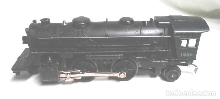 Trenes Escala: Locomotora 1655 y Vagon Carbonera Lionel Lines Escala 0 - Foto 4 - 132258914