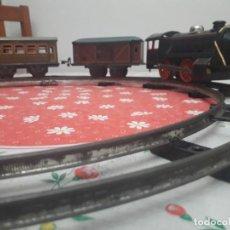 Trenes Escala: ANTIQUÍSIMO TREN KARL BUB A CUERDA. Lote 133557594