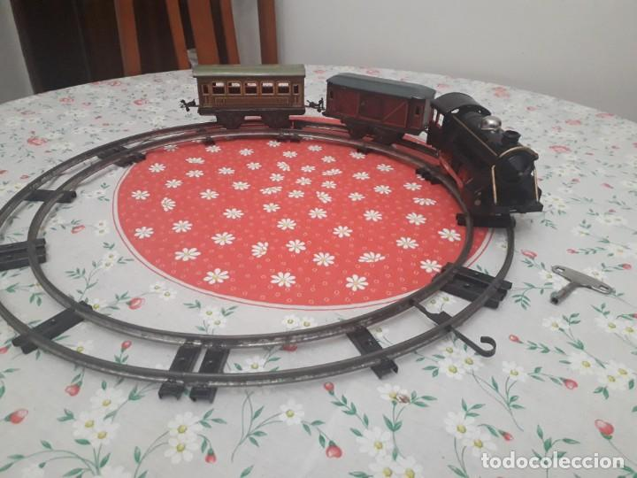 Trenes Escala: Antiquísimo tren Karl Bub a cuerda - Foto 2 - 133557594
