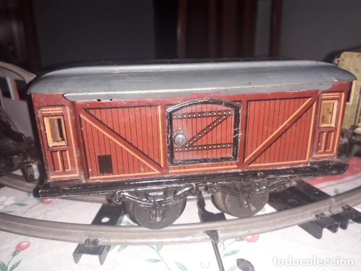 Trenes Escala: Antiquísimo tren Karl Bub a cuerda - Foto 5 - 133557594