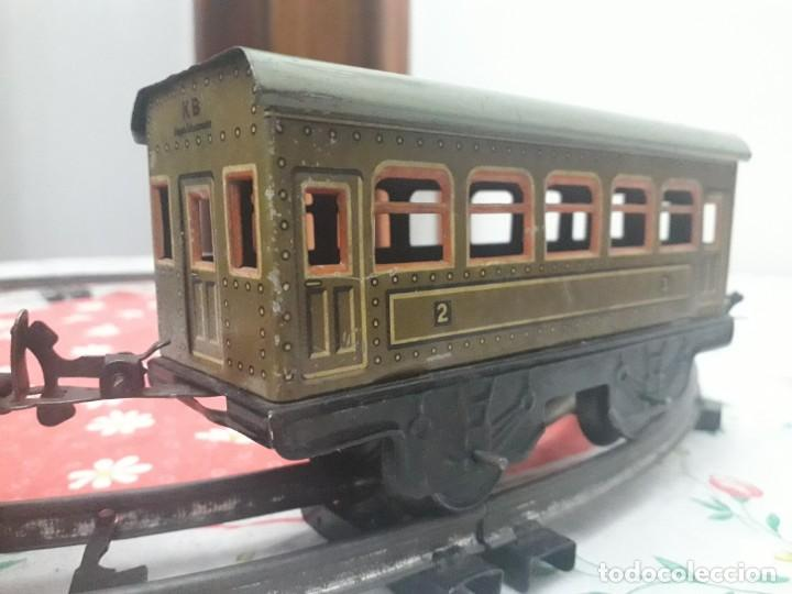 Trenes Escala: Antiquísimo tren Karl Bub a cuerda - Foto 6 - 133557594