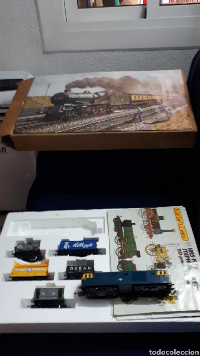 TREN COMPLETO SIN JUGAR HORNBY RAILWAYS REF 758 ESCALA 00 MADE IN BRITAIN (Juguetes - Trenes Escala 0)