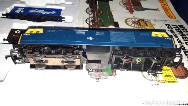 Trenes Escala: TREN COMPLETO SIN JUGAR HORNBY RAILWAYS REF 758 ESCALA 00 MADE IN BRITAIN - Foto 2 - 137807274
