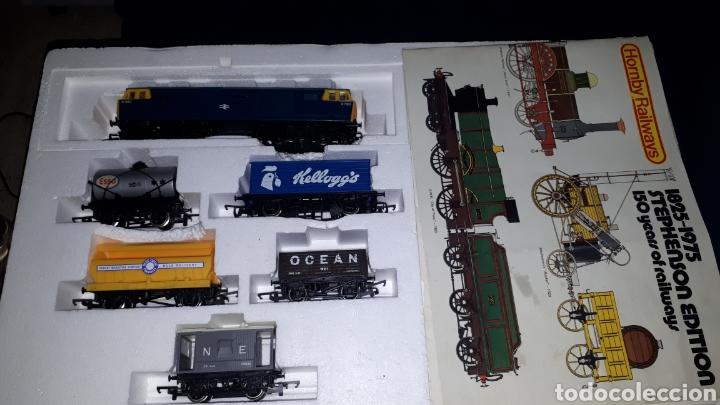 Trenes Escala: TREN COMPLETO SIN JUGAR HORNBY RAILWAYS REF 758 ESCALA 00 MADE IN BRITAIN - Foto 3 - 137807274