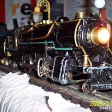 Trenes Escala: MAGNIFICO TREN ELECTRICO A.F. EN ESCALA 0, LOCO MAS TENDER.-. Lote 139883838