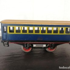 Trenes Escala: VAGÓN PASAJEROS DE HOJALATA DE PAYA ESCALA 0. Lote 143179346