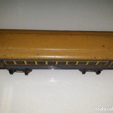 Trenes Escala: VAGON DE PAYA ESCAL 0 SIN RUEDAS. Lote 143245190