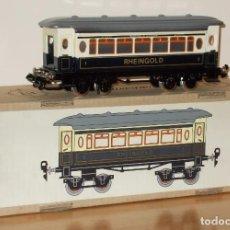 Trenes Escala: PAYÁ ESCALA 0 : COCHE RHEINGOLD CORTO, A BOGIES. Lote 143649614