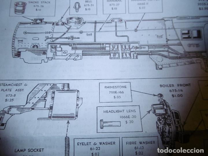 Trenes Escala: GENIAL TREN ELEC. 2025 LIONEL ESCALA CERO - Foto 11 - 140841706