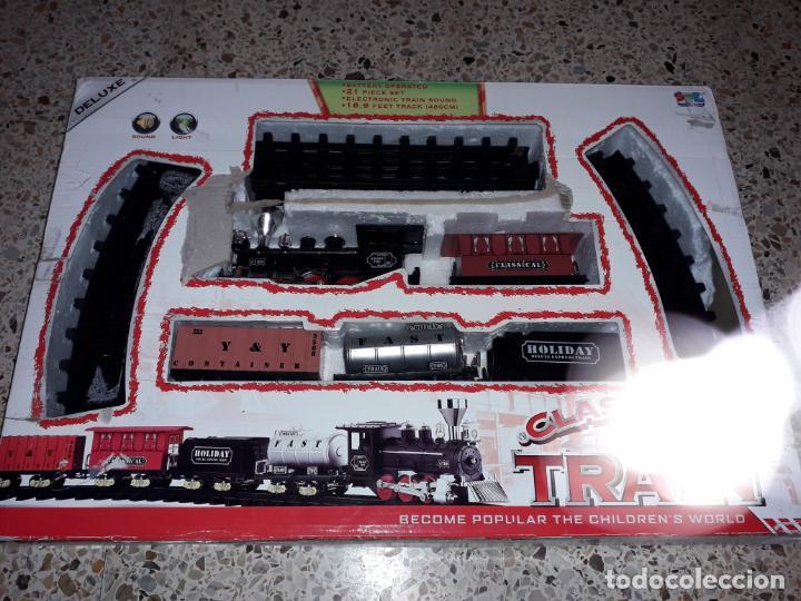 TREN DE VAPOR, CLASSICAL TRAIN, TREN DE JUGUETE (Juguetes - Trenes Escala 0)