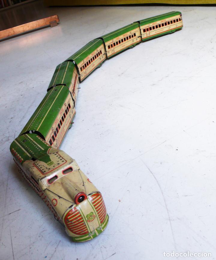 Trenes Escala: Autovía automotor Marx M10050 City of Denver. Años 30. Compatible con Paya. Escala 0 - Foto 3 - 144707854