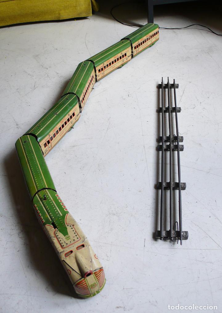 Trenes Escala: Autovía automotor Marx M10050 City of Denver. Años 30. Compatible con Paya. Escala 0 - Foto 5 - 144707854