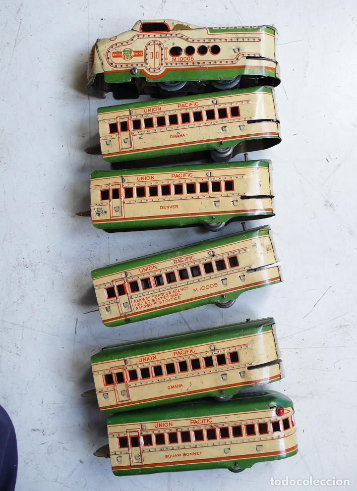 Trenes Escala: Autovía automotor Marx M10050 City of Denver. Años 30. Compatible con Paya. Escala 0 - Foto 7 - 144707854