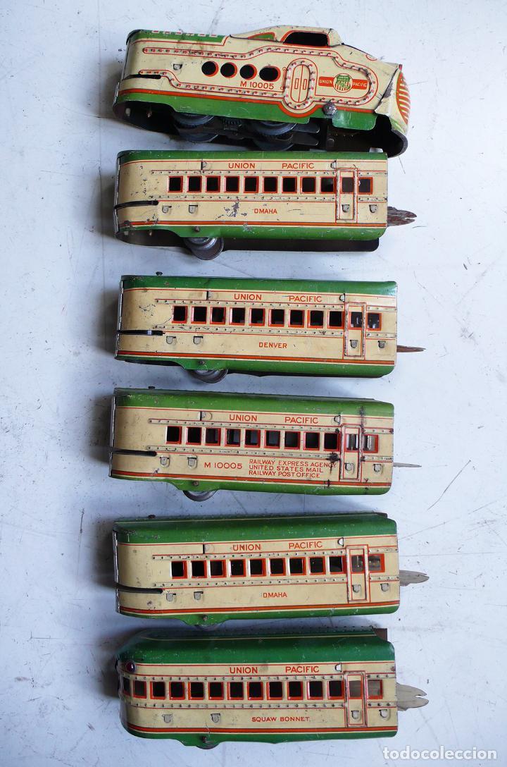 Trenes Escala: Autovía automotor Marx M10050 City of Denver. Años 30. Compatible con Paya. Escala 0 - Foto 8 - 144707854