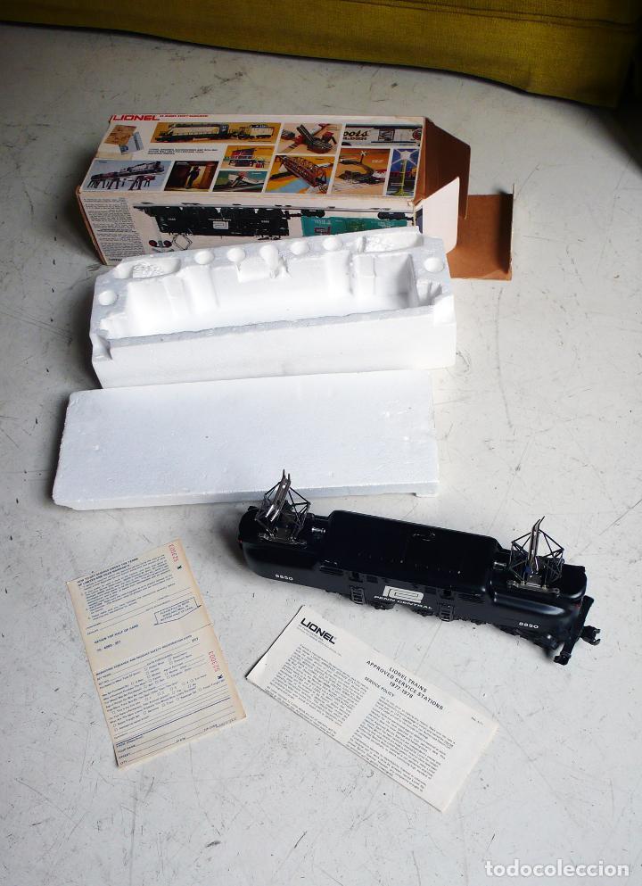 Trenes Escala: Locomotora Lionel GG1 Penn Central. Años 70. Escala 0. Compatible con Paya - Foto 2 - 144763762