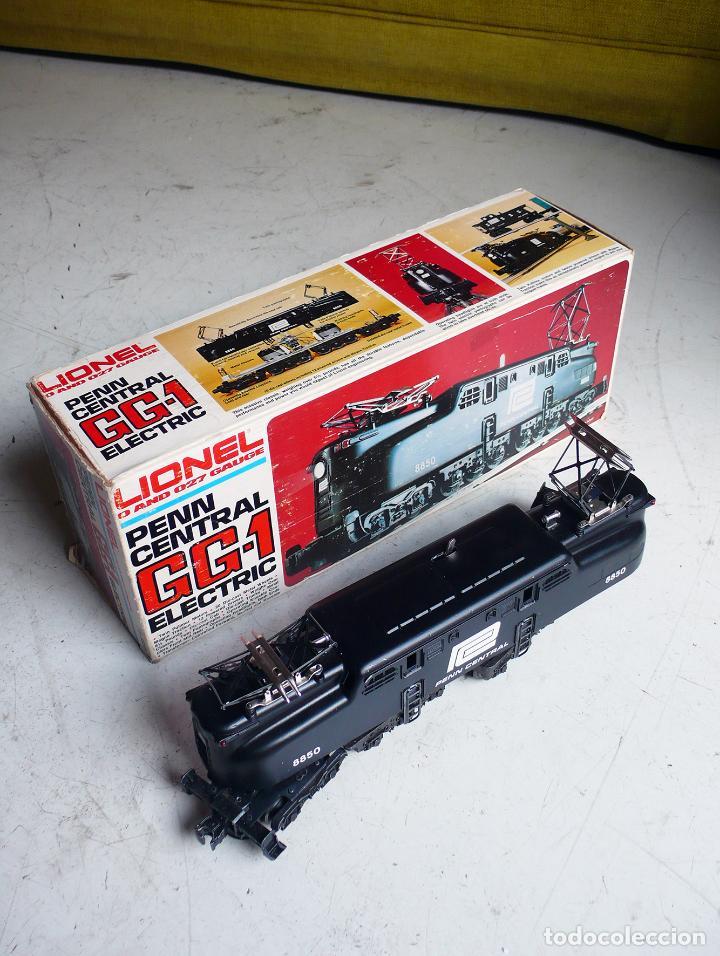 Trenes Escala: Locomotora Lionel GG1 Penn Central. Años 70. Escala 0. Compatible con Paya - Foto 3 - 144763762
