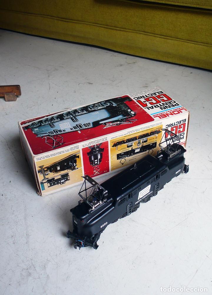 Trenes Escala: Locomotora Lionel GG1 Penn Central. Años 70. Escala 0. Compatible con Paya - Foto 13 - 144763762