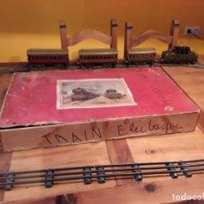 Trenes Escala: TREN J DE P, EN CAJA FUNCIONANDO, CERCA DE 100 AÑOS DE ANTIGÜEDAD.125V. Lote 148339498